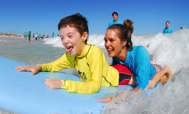 Surfing for Disabled Children