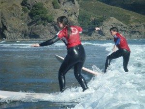 Surfing lessons for schools