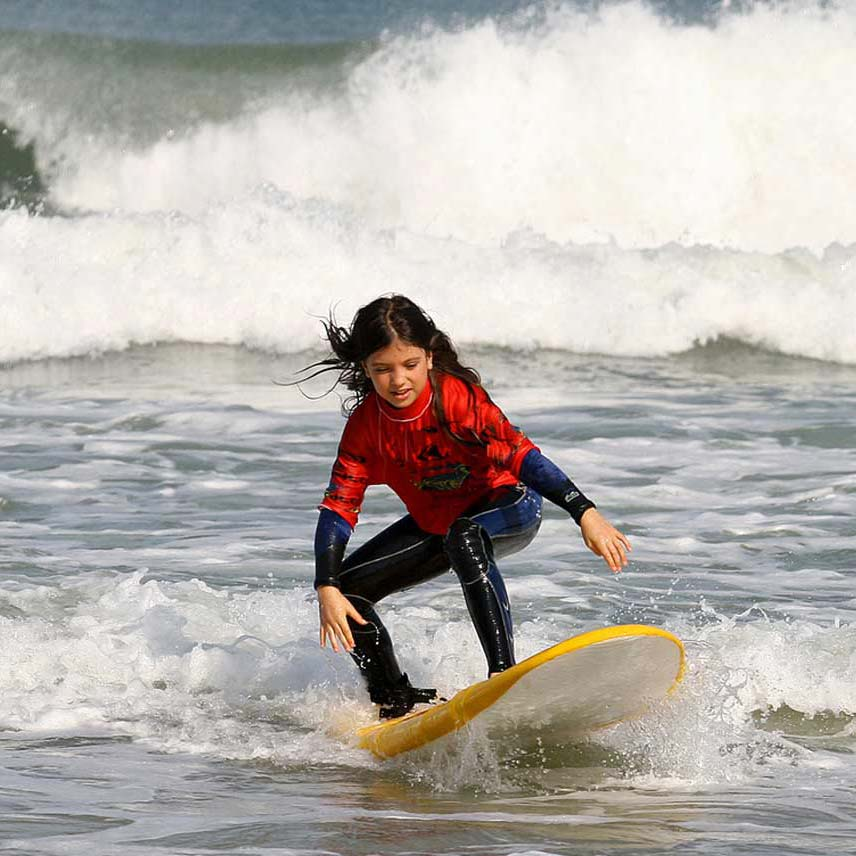 an introduction to surfing Surfing is a kind of water sports where the surfer is carried along by a breaking wave towards the shore apart from surfboards body boards, kneeboards, surf skis and kayaks can be also used to surf.