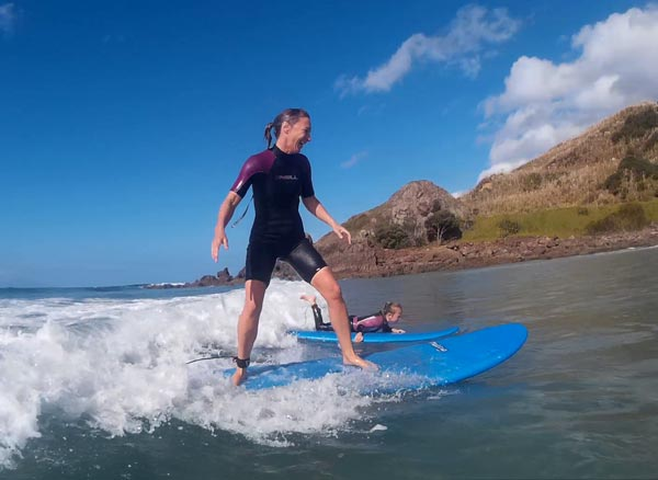 Full day beach and surfing lessons