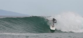 Lefts and Rights offering some spectacular surf for intermediate and experienced surfers.