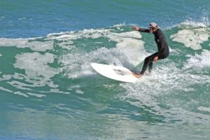 Local surfing action gallery