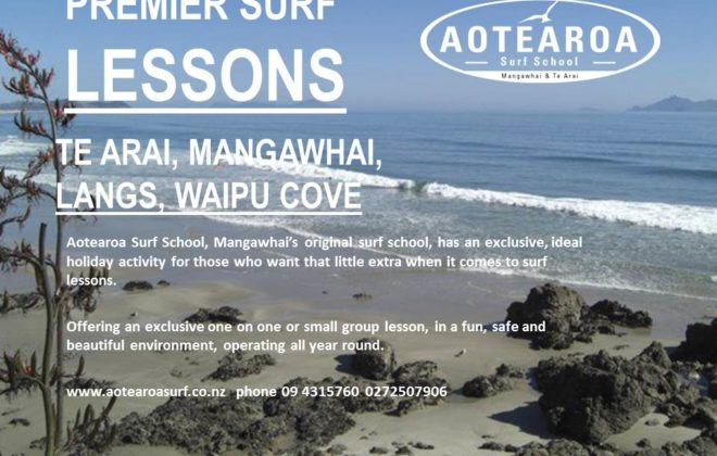 Private Surf Lessons Mangawhai and Te Arai