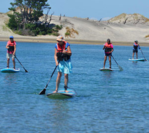 Paddleboarding lessons and tours
