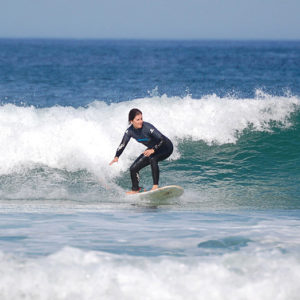 Surfing lessons for all ages and skill levels