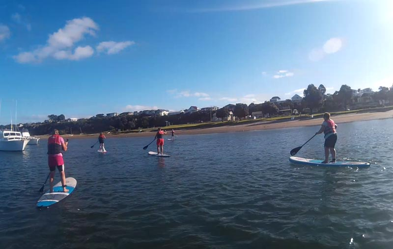 Paddle at the pub - Mangawhai