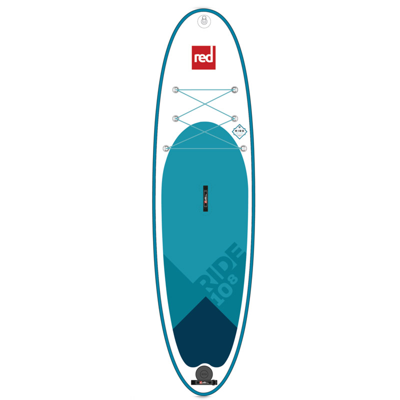 "Red Paddle 10'8"" Ride - inflatable paddleboard from Aotearoa Surf"