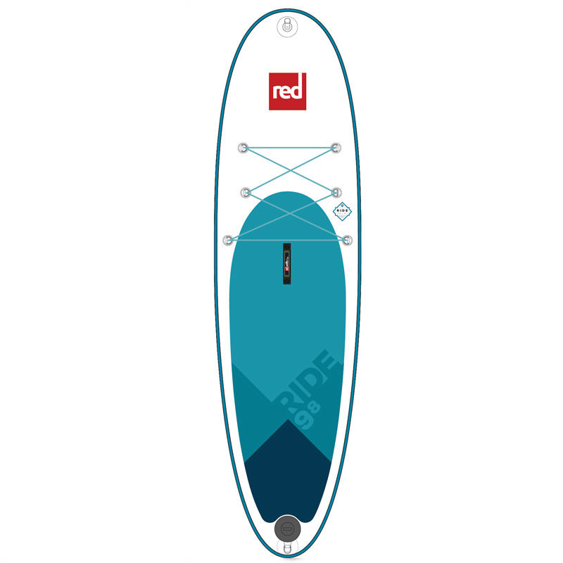 "Red Paddle 9'8"" inflatable SUP - paddleboard from Aotearoa Surf"
