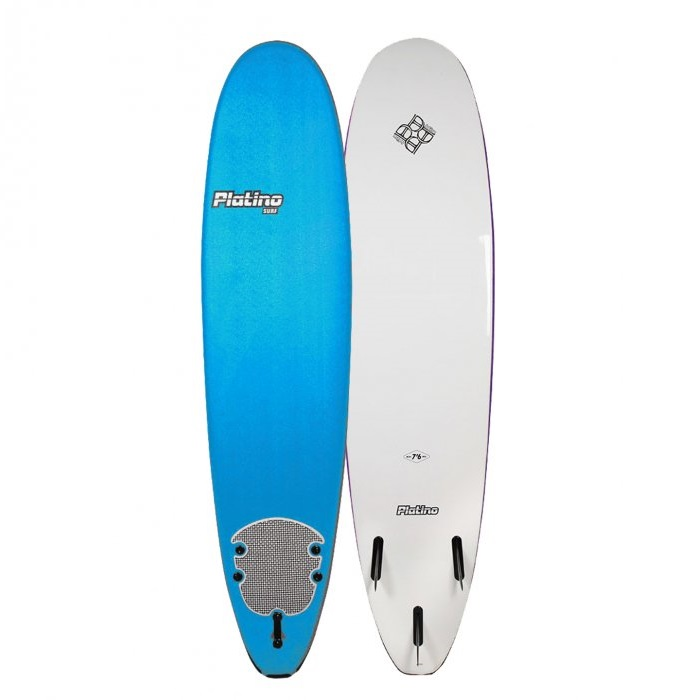 HDPE 76 FUNBOARD AZURE BLUE WHITE