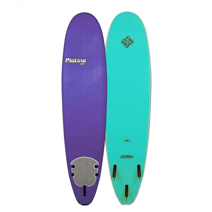 HDPE 76 FUNBOARD PURPLE TURQUOISE