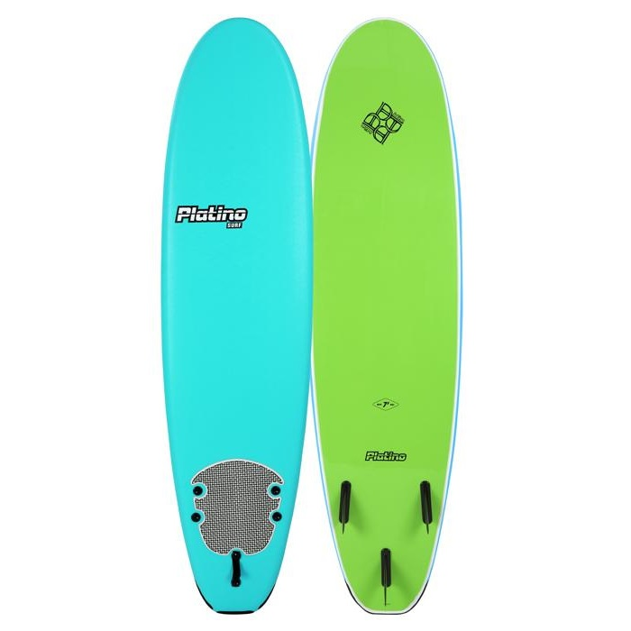 HDPE 76 FUNBOARD TURQUOISE LIME