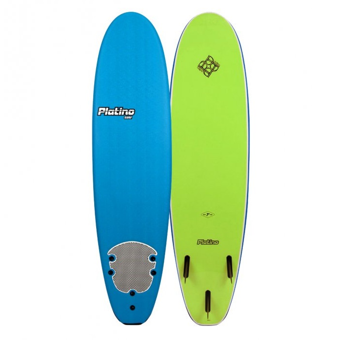 HDPE 76 Funboard azure blue lime