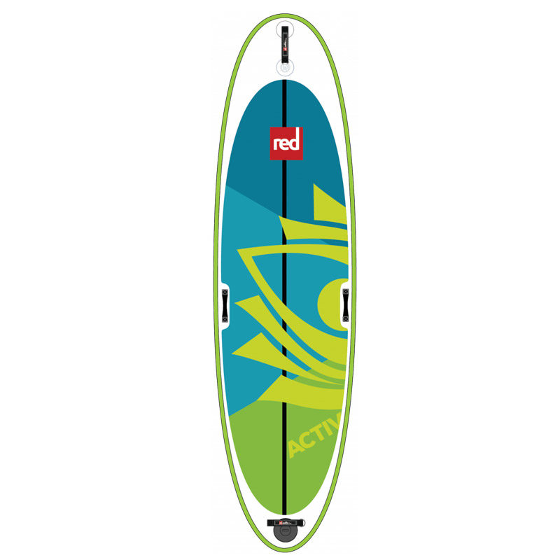 "Red Paddle 10'8"" Activ paddleboard from Aotearoa Surf"