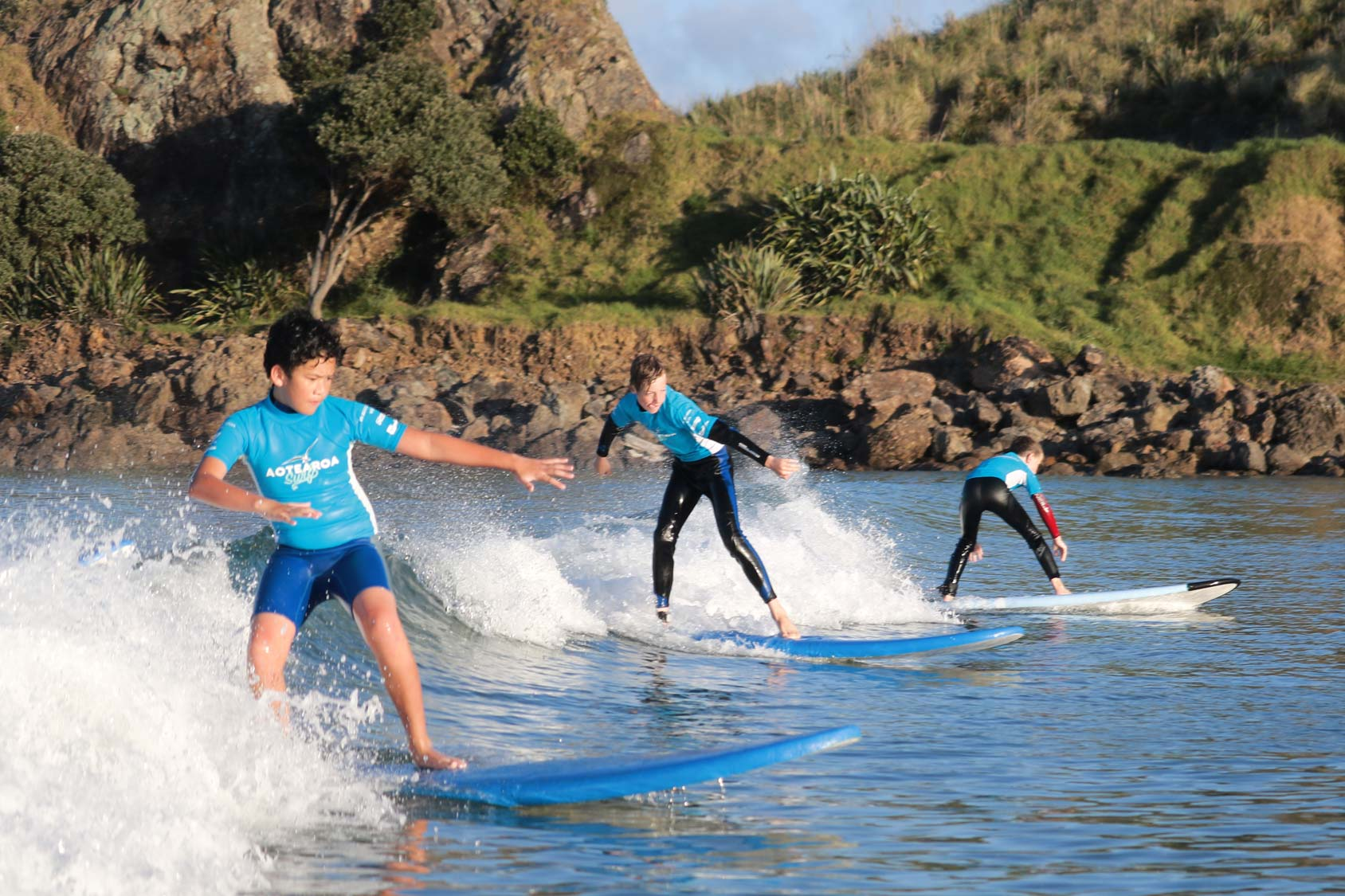 The ultimate summer surf camp with Aotearoa Surf