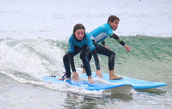 Kids birthday parties near Auckland - Aotearoa Surf