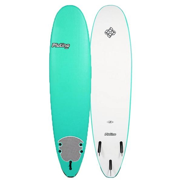 Softop Surfboard For Sale Platino Softboard NZ 8ft  Turquoise White grande