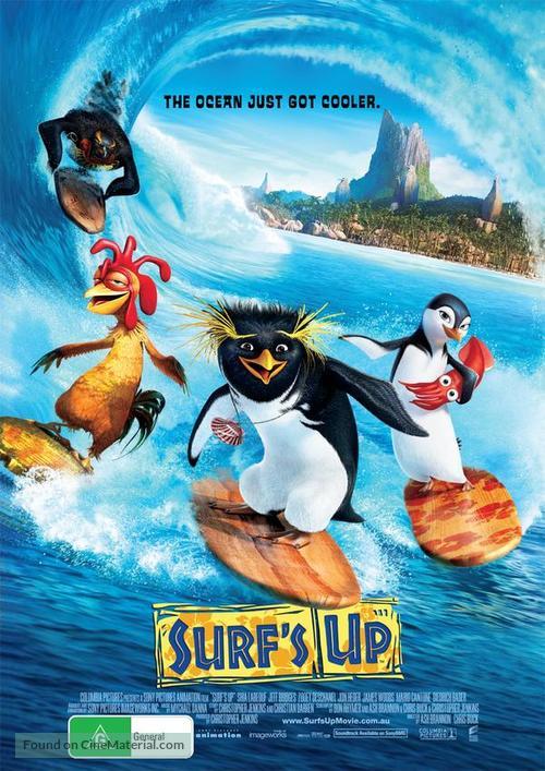 surfs up australian movie poster