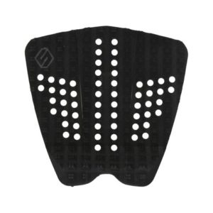 SHAPERS ATHLETIC 3PC BLACK BLACK TAIL PAD 1