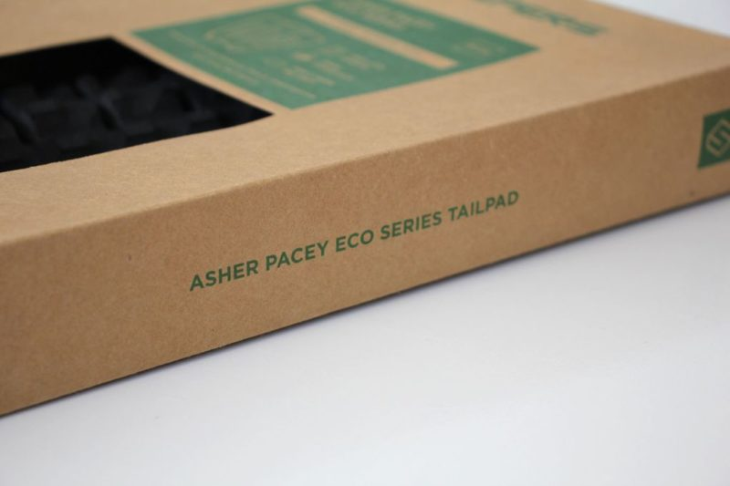Surfboard Tail Pads For Sale Shapers Asher Pacey front ap eco 3pc performance tailpad 2
