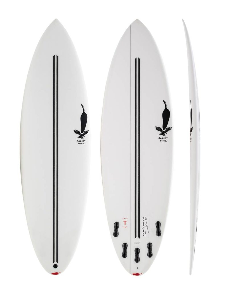 chilli rarest bird 60 shortboard