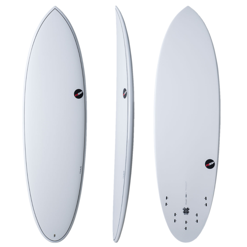 nsp element hybrid surfboard 1