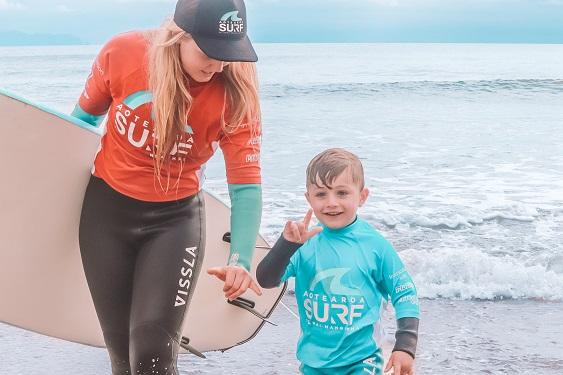 Aotearoa Surf Coach Cap Black Coach