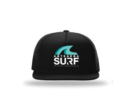 Aotearoa Surf Coach Cap Black