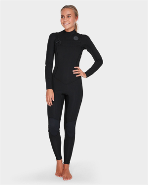 Billabong Salty Dayz 403 Chest Zip Black 2