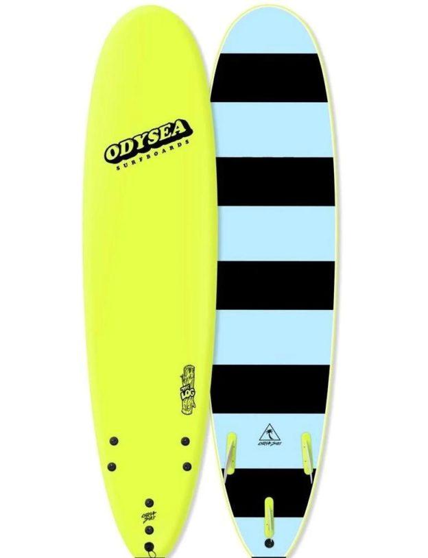 Catch Surf NZ Freeride Surf Odysea Log Electric Lemon 2019 80 1296x
