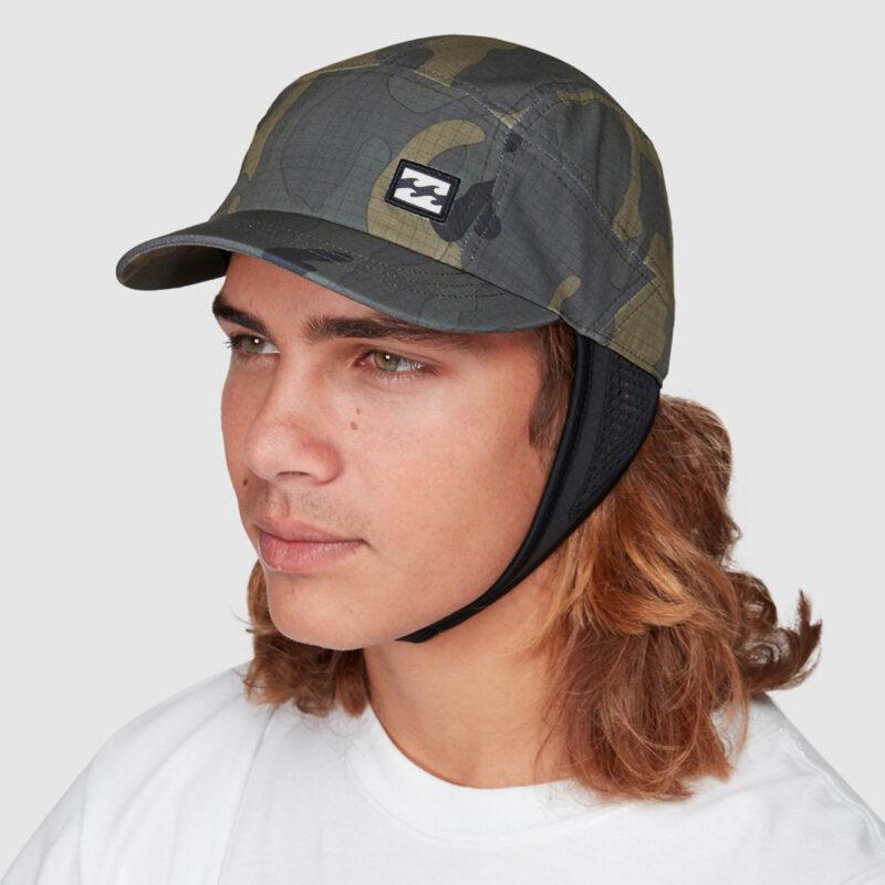 billabong upf50 surfcap army camo