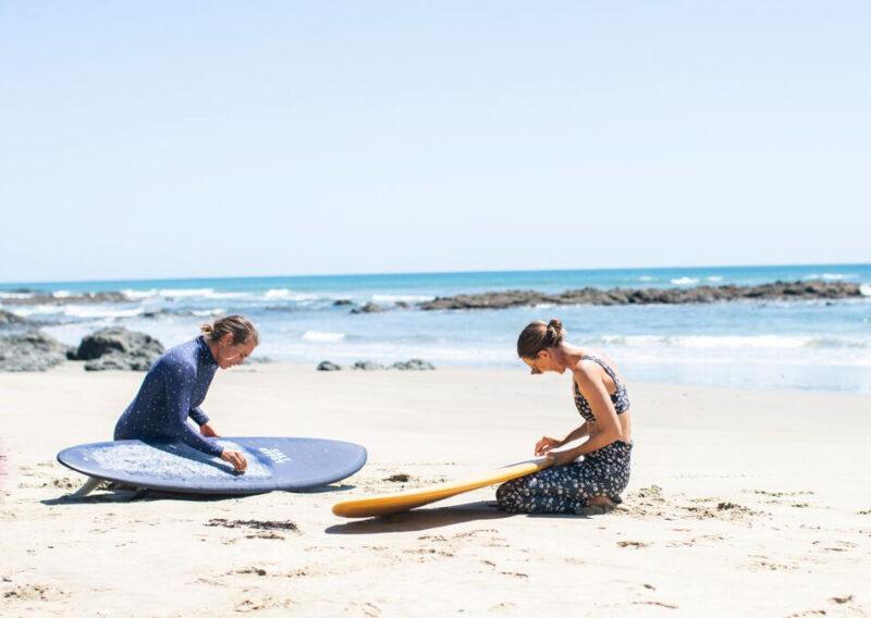 Aotearoa Surf salt gypsy mid tide blue surfboards auckland nz beach wax boards