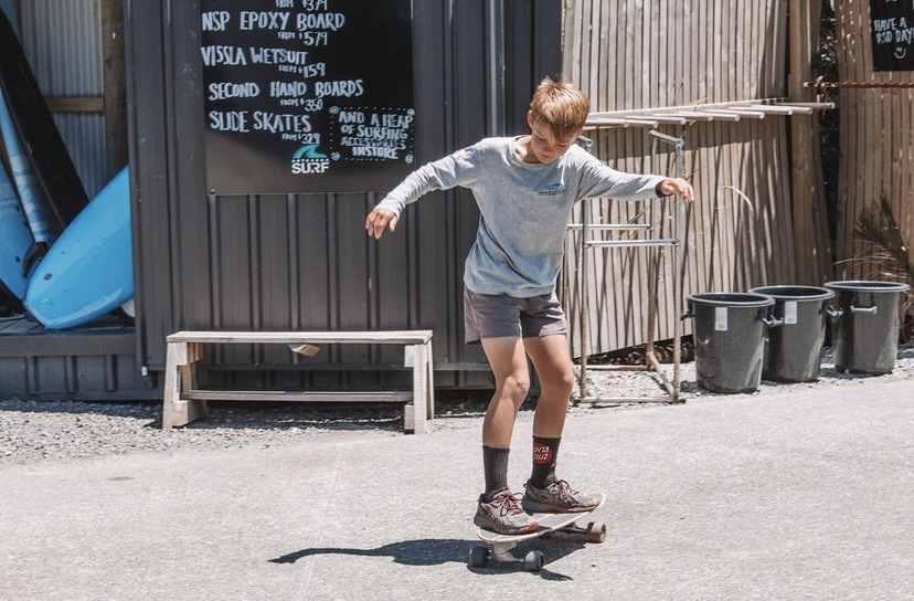 Slide Surf Skates Free Training Sessions - Aotearoa Surf School