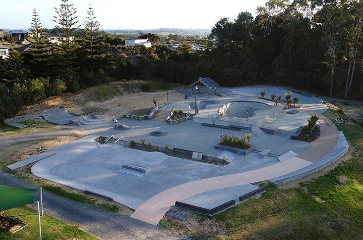 Mangawhai Activity Zone Skatepark Aotearoa Surf