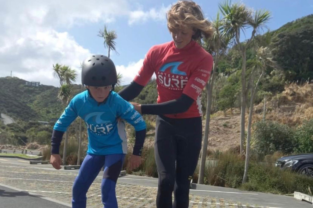 Slide Surf Skate Training Aotearoa Surf School 1
